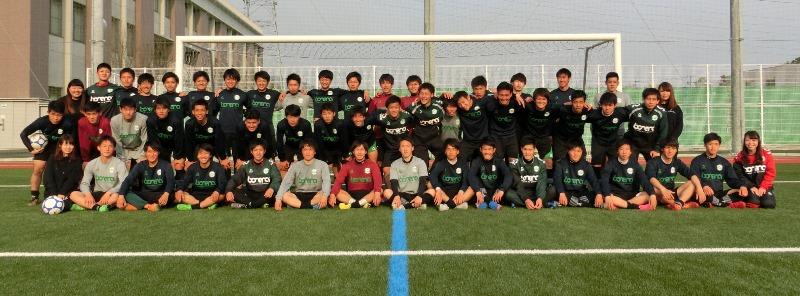 関西福祉大学サッカー部集合写真